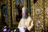 На брифинге в Киеве рассказали об изменениях в Украинской Православной Церкви, произошедших за пять лет предстоятельства Блаженнейшего митрополита Онуфрия на Киевской кафедре