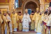 В Неделю 9-ю по Пятидесятнице Блаженнейший митрополит Онуфрий совершил Литургию в Киево-Печерской лавре