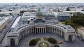 В канун праздника Преображения Господня Святейший Патриарх Кирилл совершил всенощное бдение в Казанском соборе Санкт-Петербурга