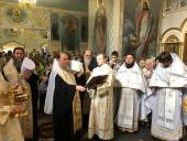 Глава Митрополичьего округа в Республике Казахстан совершил Литургию в Илиинском кафедральном соборе Архангельска