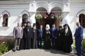 В Введенском Толгском женском монастыре состоялись торжества престольного праздника