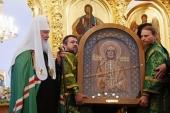 В день памяти преподобных Зосимы, Савватия и Германа Соловецких Святейший Патриарх Кирилл совершил Литургию в Соловецком монастыре