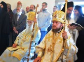 Иерархи Украинской и Сербской Православных Церквей совершили богослужение на горе Ключский Фавор в Черногории