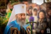 Предстоятель Украинской Православной Церкви выразил поддержку Сербской Православной Церкви в Черногории