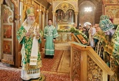 Председатель Синодального отдела по монастырям и монашеству возглавил в Саввино-Сторожевском монастыре торжества по случаю дня памяти основателя обители