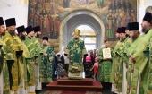 В Яранской епархии прошли торжества по случаю годовщины обретения мощей преподобного Матфея Яранского