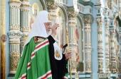 Патриаршая проповедь после Литургии в храме Державной иконы Божией Матери в Чертанове г. Москвы