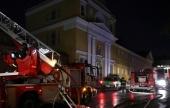 В результате пожара в Богородице-Рождественском ставропигиальном монастыре никто не пострадал