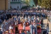 В праздник Успения Богородицы Предстоятель Украинской Православной Церкви возглавил престольные торжества в Киево-Печерской лавре