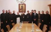 Митрополит Волоколамский Иларион встретился с участниками пятого Летнего института для представителей Римско-Католической Церкви
