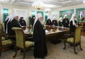 ЖУРНАЛЫ заседания Священного Синода от 30 августа 2019 года