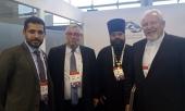 Секретарь ОВЦС по межрелигиозным отношениям участвовал во встрече с вице-премьером Объединенных Арабских Эмиратов