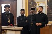 Делегация Маланкарской Церкви Индии посетила Санкт-Петербург