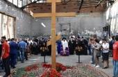 Архиепископ Владикавказский Леонид и духовенство епархии приняли участие в траурных мероприятиях в Беслане