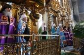 Патриаршая проповедь после Литургии в праздник Донской иконы Божией Матери в Донском монастыре