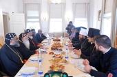 Митрополит Волоколамский Иларион встретился с Предстоятелем Маланкарской Церкви