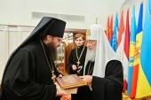 Слово архимандрита Амвросия (Шевцова) при наречении во епископа Светлогорского, викария Гомельской епархии