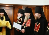 Слово архимандрита Порфирия (Шутова) при наречении во епископа Одинцовского