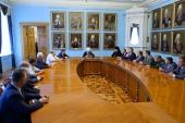 Митрополит Санкт-Петербургский Варсонофий встретился с руководителями петербургских вузов