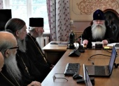 В Троице-Сергиевой лавре прошло очередное пленарное заседание Синодальной богослужебной комиссии
