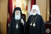 Состоялась встреча Предстоятеля Иерусалимской Православной Церкви и Патриаршего экзарха всея Беларуси