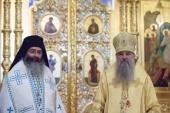 Иерарх Кипрской Церкви посетил с паломническим визитом Санкт-Петербург