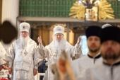 В Александро-Невской лавре молитвенно почтили память митрополита Никодима (Ротова)