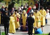 В годовщину героической защиты Петропавловского порта 1854 года в Петропавловске-Камчатском состоялся общегородской крестный ход