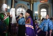 Слово Святейшего Патриарха Кирилла при вручении архиерейского жезла Преосвященному Порфирию (Шутову), епископу Одинцовскому