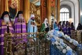 Патриаршая проповедь в Неделю 12-ю по Пятидесятнице после Литургии в храме вмч. Никиты в Старой Басманной Слободе г. Москвы