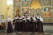 В Невьянске состоялся I Епархиальный хоровой фестиваль имени священномученика Вячеслава Луканина