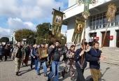 В Екатеринбургской епархии начался Симеоновский крестный ход
