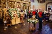 В Москву принесен ковчег с мощами святителя Луки (Войно-Ясенецкого)