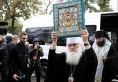 Курская-Коренная икона Божией Матери «Знамение» доставлена в Бишкек