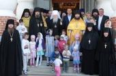 Митрополит Крутицкий и Коломенский Ювеналий возглавил Литургию в подмосковном Николо-Пешношском монастыре