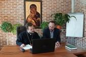 Заместитель председателя Синодального отдела по делам молодежи провел рабочее совещание с руководителями координационных центров молодежного служения
