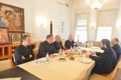 Митрополит Волоколамский Иларион встретился с архиепископом Варшавским кардиналом Казимежем Ничем