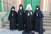 В день Усекновения главы Иоанна Предтечи митрополит Астанайский Александр совершил Литургию в Пюхтицком монастыре