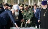 Патриарший наместник Московской епархии принял участие в мероприятиях в военно-патриотическом парке «Патриот» в подмосковной Кубинке