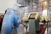 Завершилось пребывание в пределах Бишкекской епархии чудотворной Курской-Коренной иконы Божией Матери
