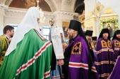 Слово Святейшего Патриарха Кирилла при вручении архиерейского жезла Преосвященному Леонтию (Козлову), епископу Сызранскому
