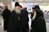 В Россию прибыла делегация игуменов и игумений Коптской Церкви