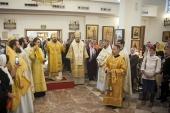 Председатель ОВЦС совершил Литургию в храме святой равноапостольной Марии Магдалины в Мадриде