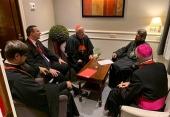 Митрополит Волоколамский Иларион встретился с председателем Итальянской епископской конференции