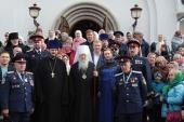 Патриарший наместник Московской епархии посетил Спасский храм подмосковного села Усово