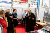 В Белгороде в рамках торжеств по случаю годовщины канонизации святителя Иоасафа Белгородского открылась выставка, посвященная 75-летию Великой Победы