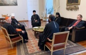Митрополит Волоколамский Иларион встретился с католическим архиепископом Мадрида