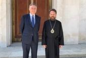 Metropolitan Hilarion meets with Russian ambassador in Spain