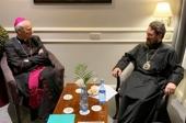 Председатель Отдела внешних церковных связей встретился с духовником Общины святого Эгидия