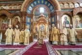 Иерарх Православной Церкви в Чешских землях и Словакии принял участие в праздновании Собора Воронежских святых